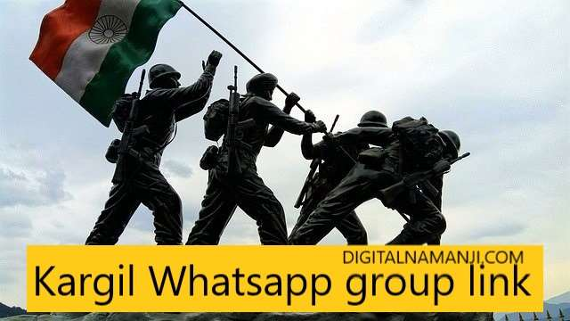 Kargil Whatsapp group link