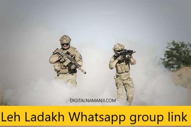 Leh Ladakh Whatsapp group link