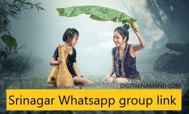 Srinagar Whatsapp group link