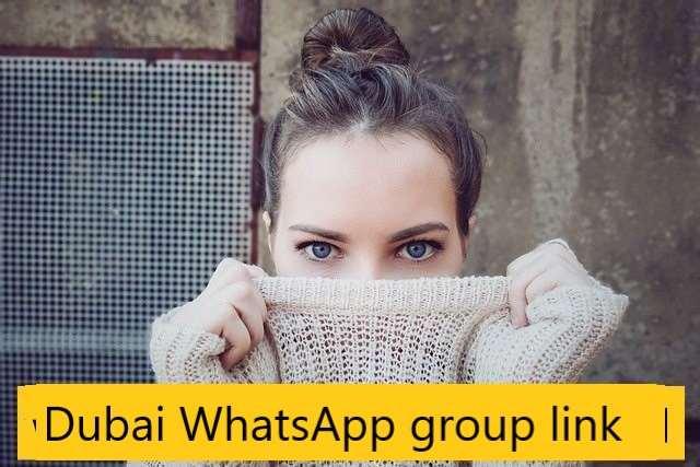 Dubai WhatsApp group link