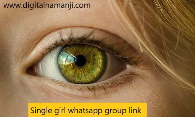 Single girl whatsapp group link