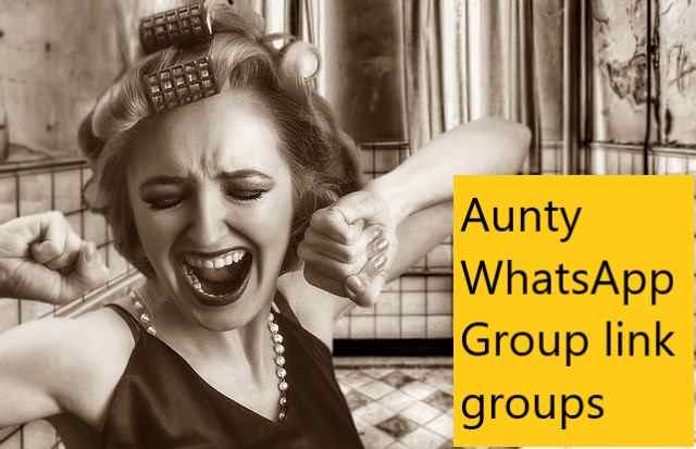 Aunty WhatsApp Group link groups