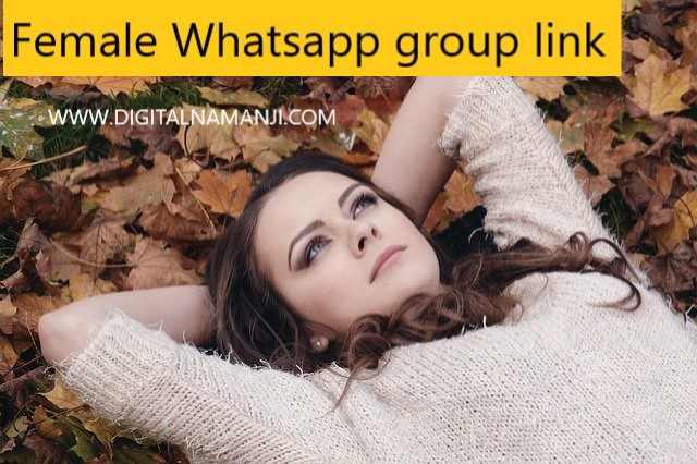 Female Whatsapp group link