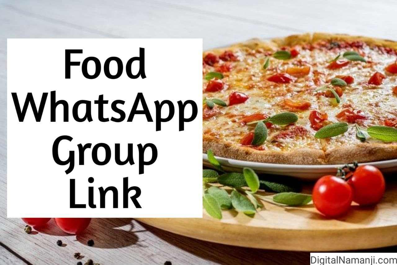 Food WhatsApp Group Link